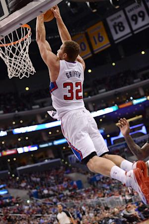 Griffin's 37 points help Clippers beat Suns