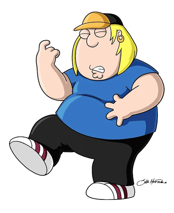 Chris Griffin (voiced by Seth Green) stars in the Family Guy on FOX.