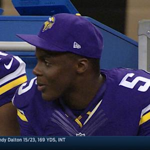 Week 3: Minnesota Vikings quarterback Teddy Bridgewater highlights