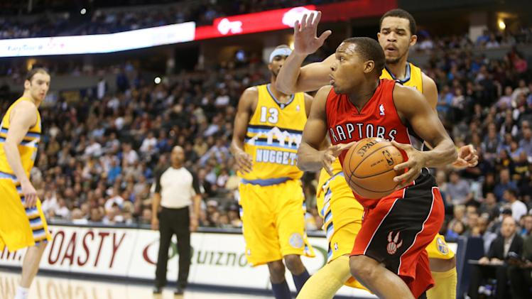 NBA: Toronto Raptors at Denver Nuggets