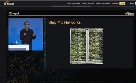 An Amazon cloud exec accidentally showed a picture of Google's data center