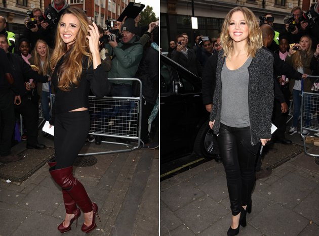 Kimberley Walsh and Nicola Roberts