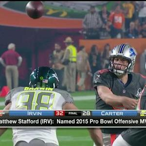 Matthew Stafford named Pro Bowl offensive MVP
