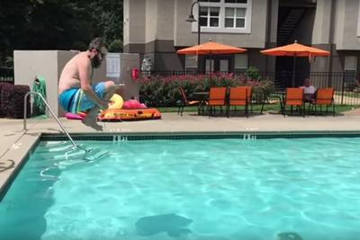 Trey Kerby's pool-jumping documentary 'The Art of C-Balls' is a cinematic masterpiece and should win most of the Oscars