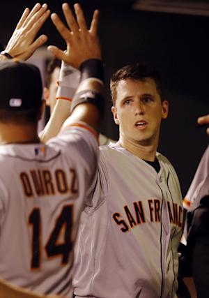 Posey, Giants rally for 12-7 win over Rockies