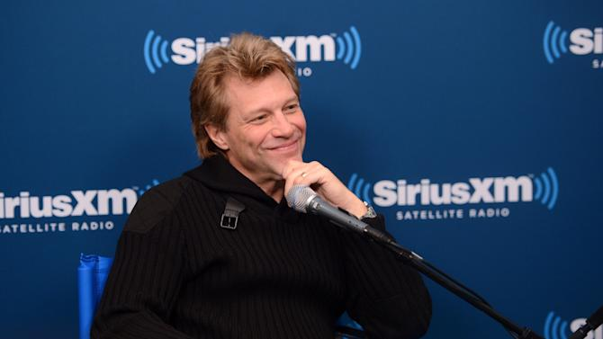 """SiriusXM's Town Hall With Jon Bon Jovi"" And Moderator Savannah Guthrie At The SiriusXM Studios"