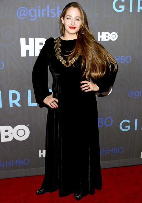 Jemima Kirke Unveils Post-Baby Body at Girls Season 2 Premiere Party