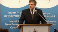 Premier David Alward used a February news conference to announce government assistance to help VAS set up a call centre in Bathurst.