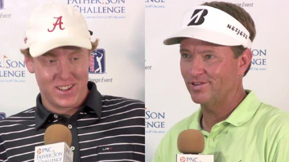 Love/Love news conference after Round 2 of PNC Challenge