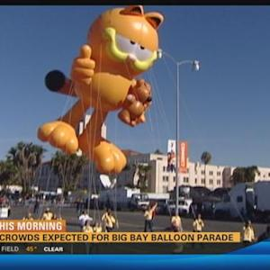 Huge crowds expected for Big Bay Balloon Parade  4:30 a.m.