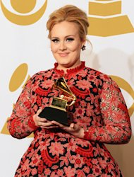 Adele at the Grammys: 'I've Been Singing Nursery Rhymes'