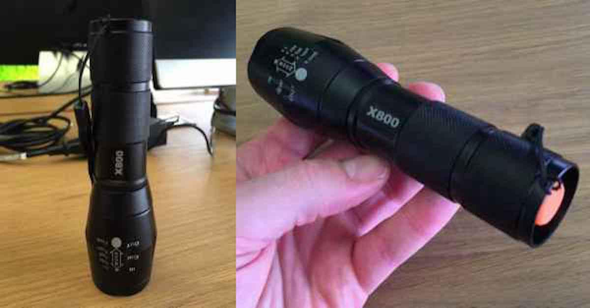 Powerful Tactical Flashlight Flying Off Shelves