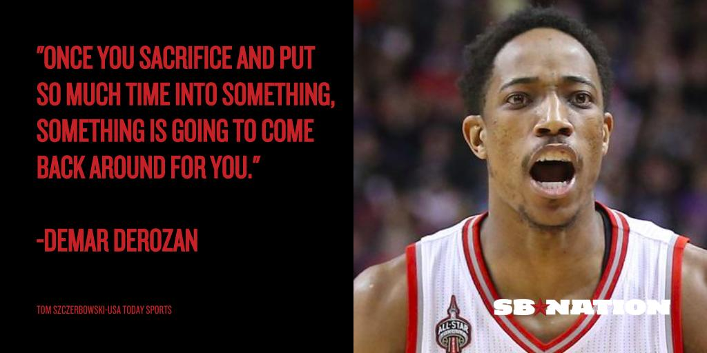 DeMar DeRozan was the Raptors star hiding in plain sight