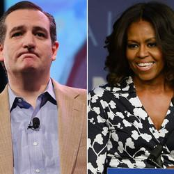 Ted Cruz Gives Rare Praise To Michelle Obama