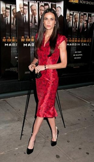Demi Moore reportedly being treated for anorexia.