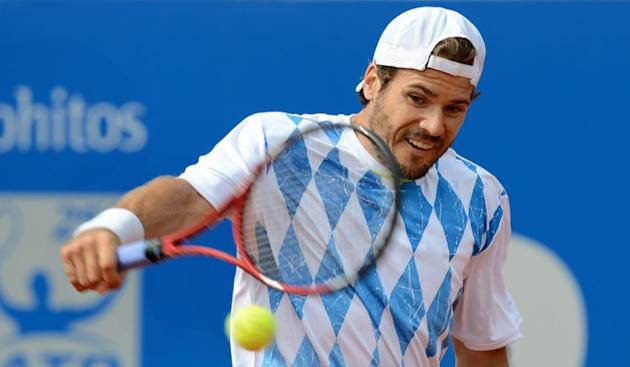 Germany's Tommy Haas Returns AFP/Getty Images