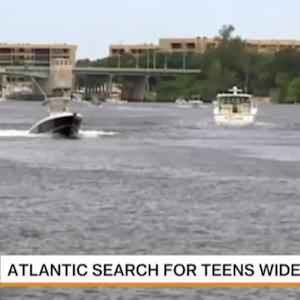 Search for Missing Teens Expands in Atlantic Ocean