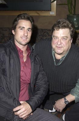Luke Wilson and John Goodman Masked and Anonymous Party Sundance Film Festival 1/22/2003