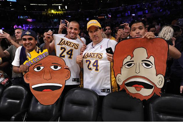 Los Angeles Lakers Fans Getty Images