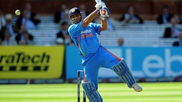 Mahendra Singh Dhoni contributed 72 runs from 66 balls