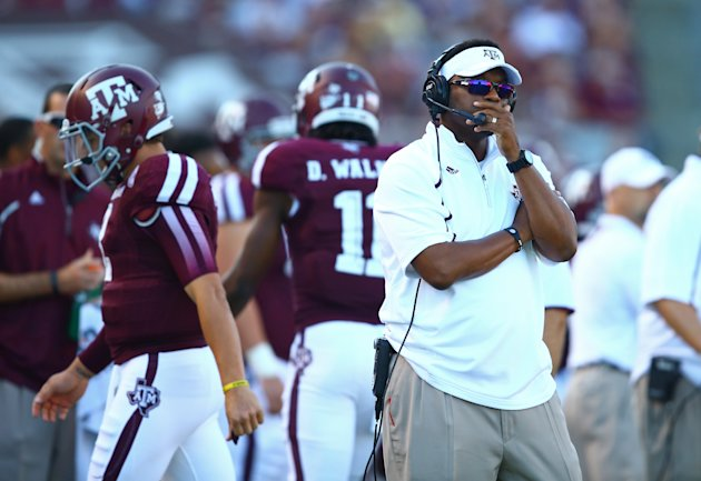 Coach Kevin Sumlin and Johnny Manziel went 10-6 in in the SEC over the past two years. (USA TODAY Sports)