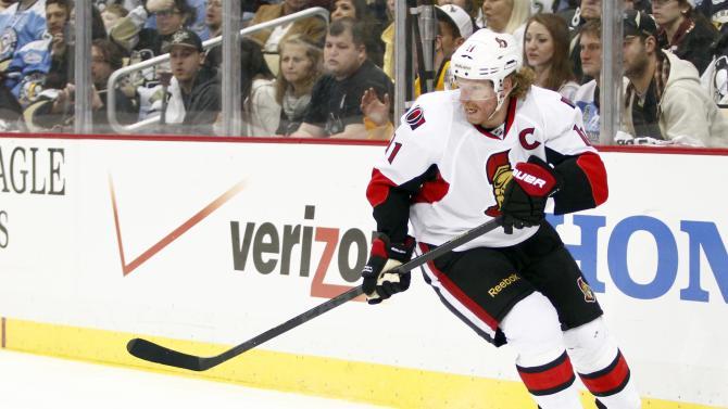 Ottawa Senators v Pittsburgh Penguins - Game One