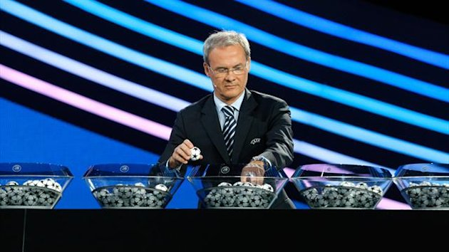 Champions League draw 2012 (AP/LaPresse)