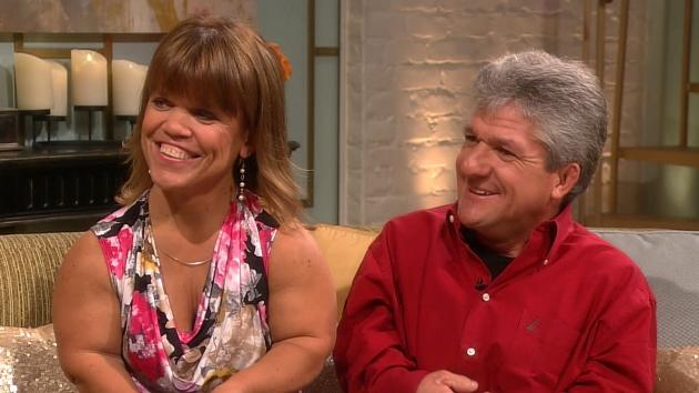 'Little People, Big World's' Amy & Matt Roloff stop by Access Hollywood Live on November 8, 2012 -- Access Hollywood