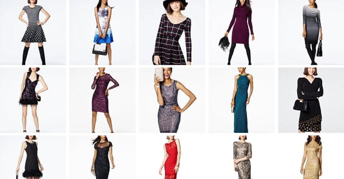 Winter Dresswear Starts at Macy's