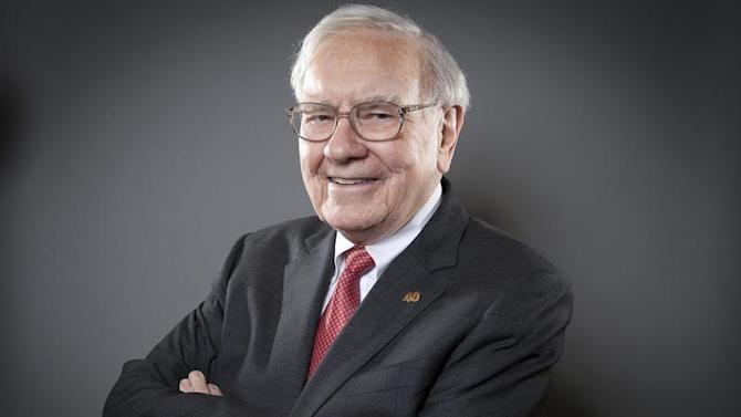 Buffett, Chairman of the Board and CEO of Berkshire Hathaway, poses for a portrait in New York