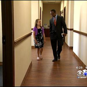 Texas Girl Relishes Meeting With President Obama