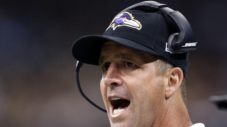 Ravens run over Saints 22-13
