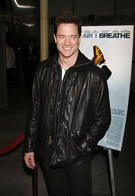 Brendan Fraser at the Los Angeles premiere of THINKFilm's The Air I Breathe