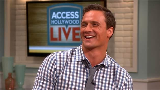 Ryan Lochte appears on Access Hollywood Live on April 18, 2013 -- Access Hollywood