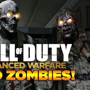 Full Round of Exo-Zombies Mode - Call of Duty: Advanced Warfare Gameplay
