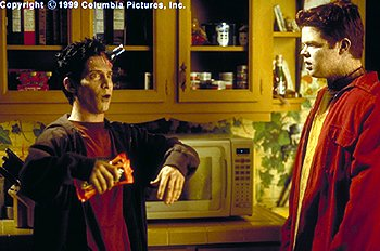 Seth Green and Elden Henson in Columbia's Idle Hands