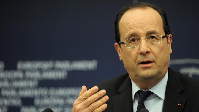 Hollande wants euro nations to drive exchange rate