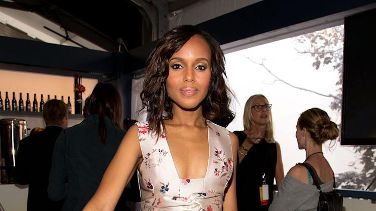 Kerry Washington gives 'Runway' a hint of scandal