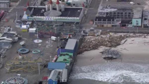 Jersey Shore town OKs deal to rebuild boardwalk