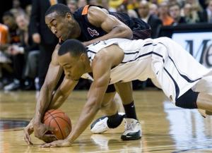 No. 3 Missouri beats Oklahoma State 83-65