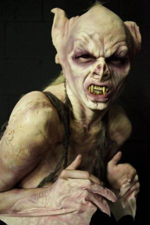 Ian's model from the Alien Interpreters on 'Face Off'
