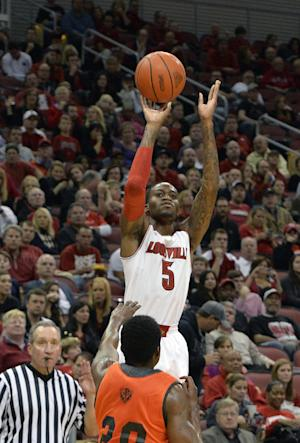 No. 3 Louisville beats Pikeville 90-61