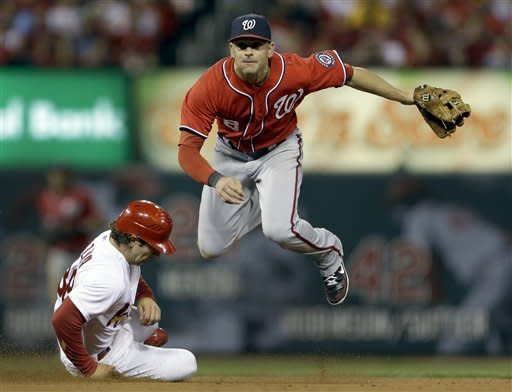 Nationals' magic number at 1 after edging Cards