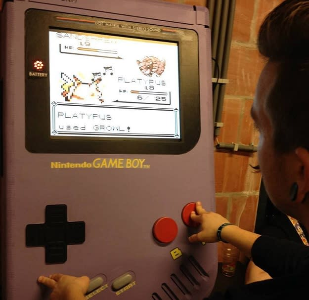 Game Boy XXL: Meet the giant 19-inch Game Boy that plays all your favorite video games