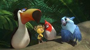 """A handout still from the film """"rio 2"""""""