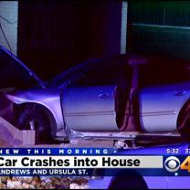 4 In Custody After Car Crash, Neighbors Wake Up To Mess