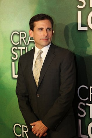 Actor Steve Carell is 50 today.