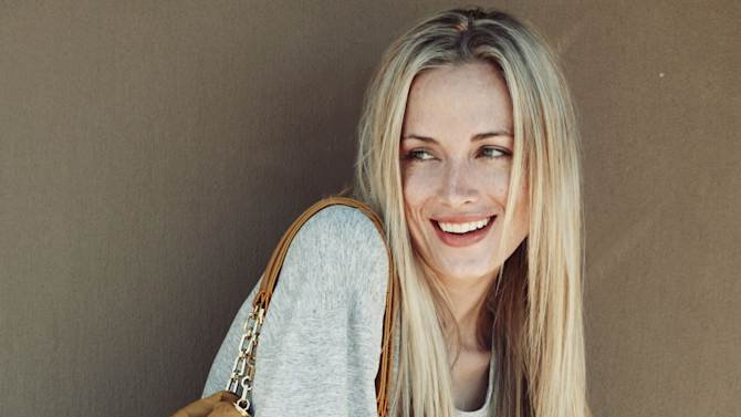 CORRECTS THE SPELLING OF REEVA This is an undated portfolio photo supplied by Ice Model Management in Johannesburg of Reeva Steenkamp,  during a photo shoot. Paralympic superstar Oscar Pistorius was charged Thursday, Feb. 14, 2013, with the murder of his girlfriend who was shot inside his home in South Africa, a stunning development in the life of a national hero known as the Blade Runner for his high-tech artificial legs.  Reeva Steenkamp, a model who spoke out on Twitter against rape and abuse of women, was shot four times in the predawn hours in the home, in a gated community in the capital, Pretoria, police said.  (AP Photo/Ice Model Management) EDITORIAL PURPOSE ONLY
