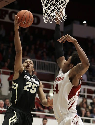 Roberson's 24 leads Colorado past Stanford 65-63