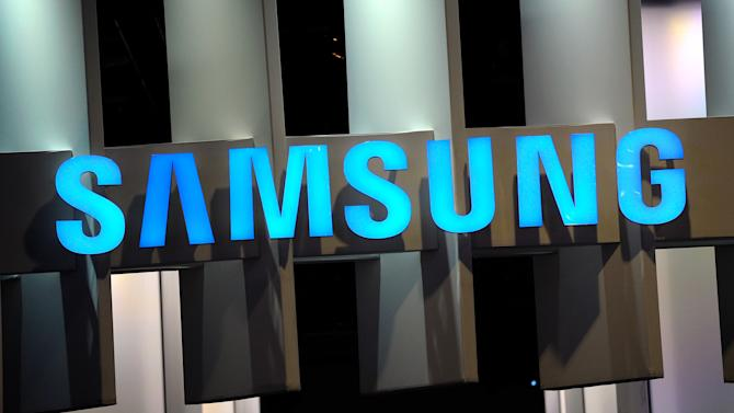 A general view of the Samsung booth at the 2014 International CES at the Las Vegas Convention Center on January 7, 2014